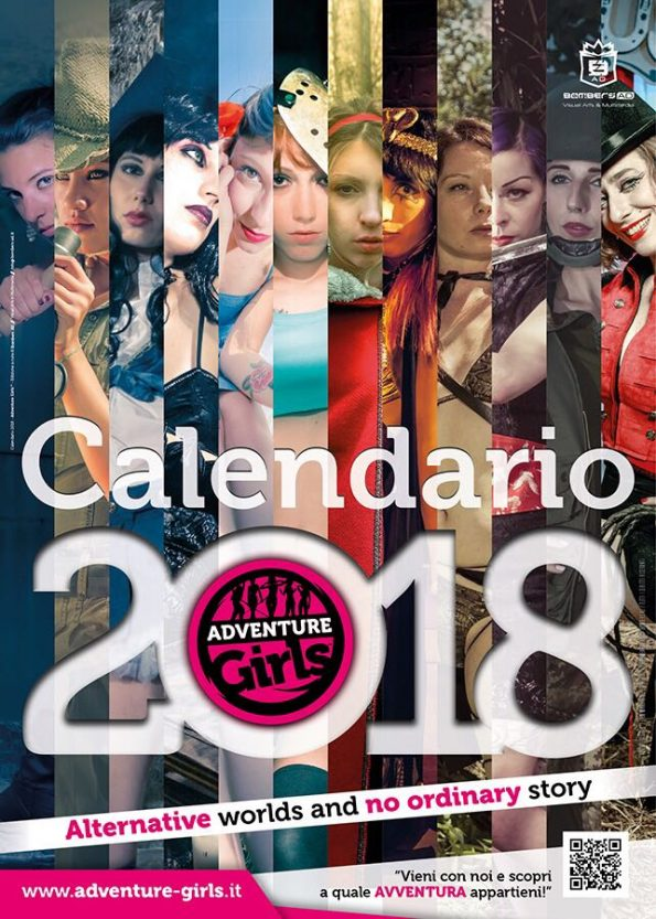 Calendario Adventure Girls 2018